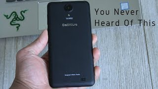 "CellAllure Cool S2 5.5"" HD Dual Sim Smartphone Unboxing & Quick Review"