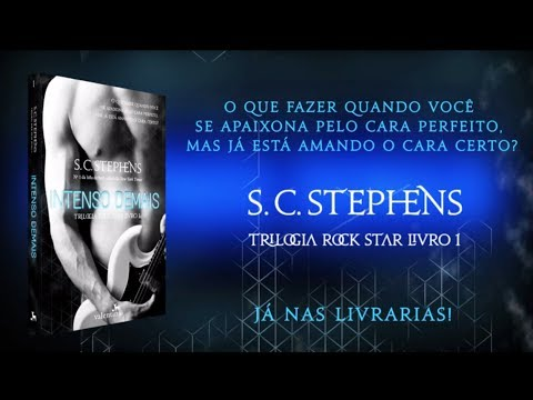 Intenso Demais (S. C. Stephens) | Trilogia Rock Star vol. 1 - book trailer