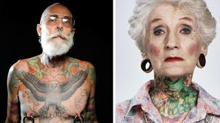 These Hip Tattooed Seniors Show What Your Ink Will Look Like When You're Old