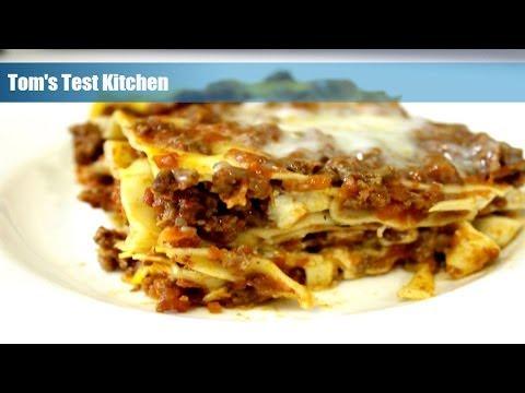 Easy Homemade Lasagna
