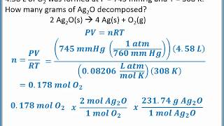 CHEMISTRY 101 - Stoichiometry With Gases