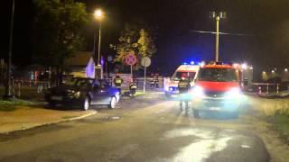 Wypadek na ulicy Legionów w Krośnie