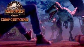 """Dinossauros estragam férias em teaser da série animada de """"Jurassic World""""; assista"""