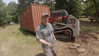 ULTIMATE EASY Moving Conex Container with axle