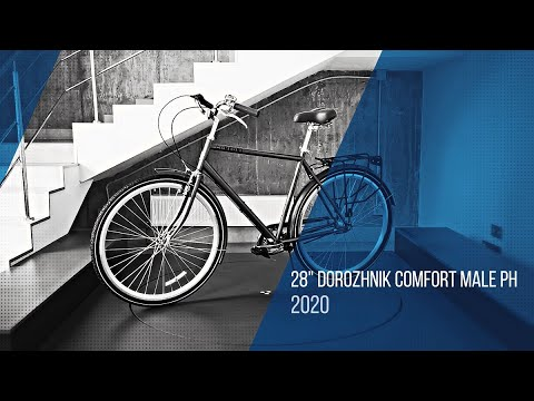 "Велосипед 28"" Dorozhnik COMFORT MALE планет. 2020: video"