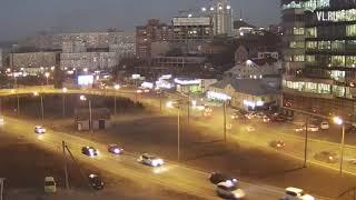 VL.ru - Момент массовой аварии с маршруткой на фуникулере