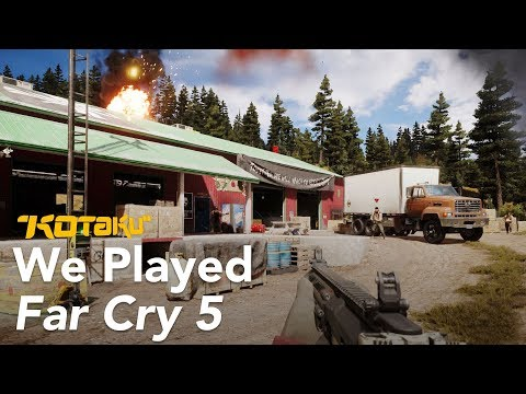 far-cry far-cry-5 kotaku-core kotaku-video ubisoft video