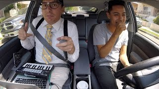NERDY LYFT PASSENGER SURPRISES DRIVER WITH SECRET TALENT