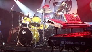 Borlai Gergő (European Mantra) drum solo @Gödör Klub, Budapest, Hungary 2016.10.06