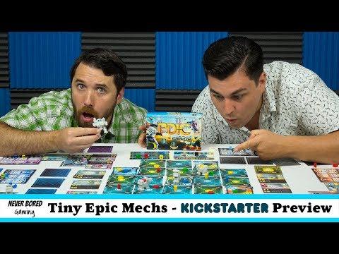 Never Bored Gaming - Kickstarter Preview