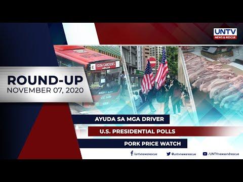[UNTV]  UNTV NEWS ROUNDUP: Mga balitang dapat mong malaman (November 7, 2020)