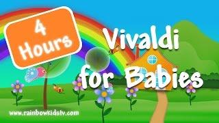 ♥ Vivaldi for kids ♥ Bedtime Classical Music ♥ Four Seasons ♥ 4 hours