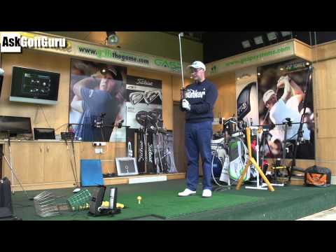 Golf Posture and Swing Path Lesson