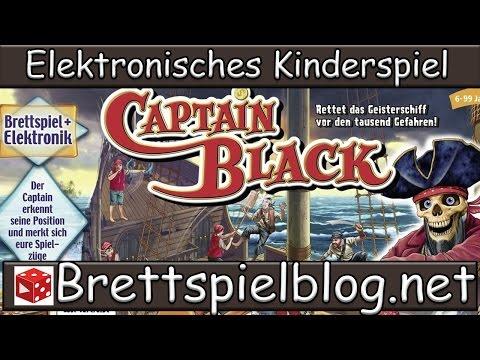 Test: Captain Black - Ravensburger // Brettspielblog.net