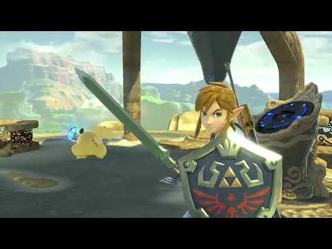 Super Smash Bros. Ultimate - Bandes annonces - Link
