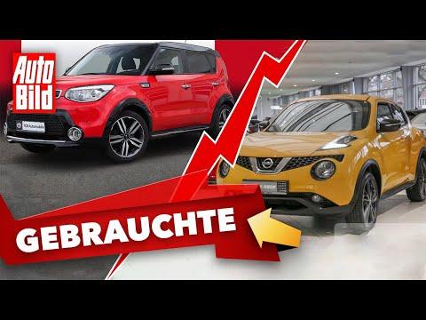 Nissan Juke 1.2 vs. Kia Soul Spirit |Das Gebrauchtwagen-Battle mit Conny Poltersdorf & Moritz Doka