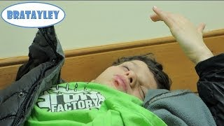 Caleb Busted His Lip Open! (WK 164.7) | Bratayley