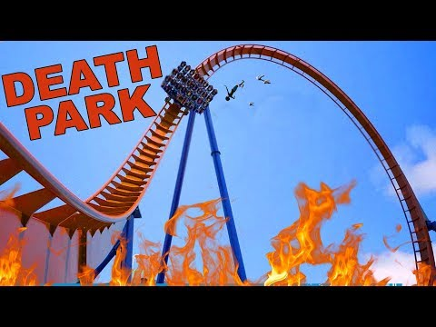 Craziest Death Park Ever Created in Planet Coaster