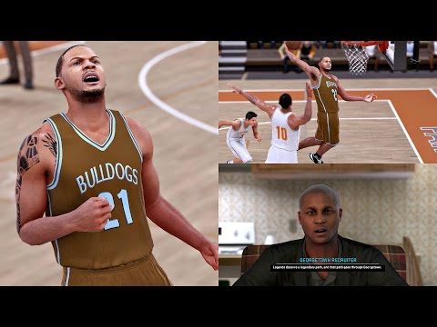 57ab9f57e9a NBA 2K16 Walkthrough - MyCAREER - 1st High School Game! College Recruits WITNESS  GREATNESS!! Ep. 3 by Gento Game Video Walkthroughs