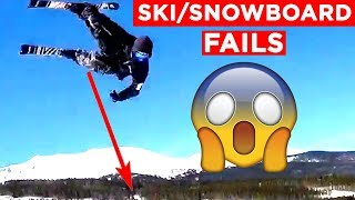 SKI AND SNOWBOARDING FAILS!! | Viral Winter Fails From IG, FB, Snapchat And More!! | Mas Supreme