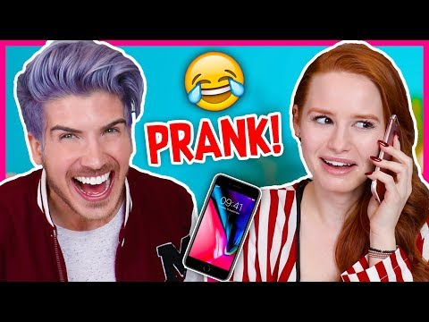 PRANK CALLING IN SICK FROM JOBS WE DON'T HAVE! w/Madelaine Petsch
