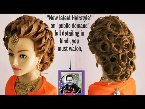 Download New Latest Hairstyle 2018 Latest Updo Hairstyle For Medium