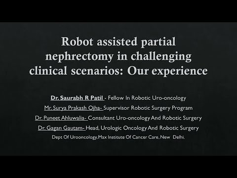 Robot assisted partial nephrectomy in challenging clinical scenarios: Our experience