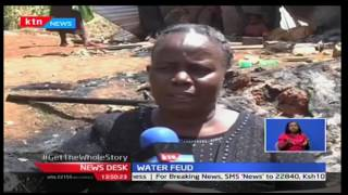Several houses torches and numbers injured over water project dispute in Nyamira