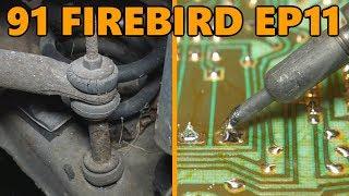 1991 Firebird Headlight Module Repair, Front Sway Bar Links (Ep.11)