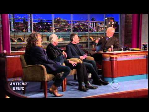 LED ZEPPELIN TALKS ON LETTERMAN AND AT KENNEDY CENTER HONORS WITH OBAMA