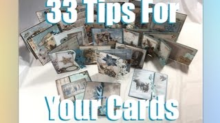 33 Christmas Cards tips