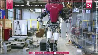 علماء يطورون روبوتاً يشبه في حركته إنساناً يمشي على الحبل