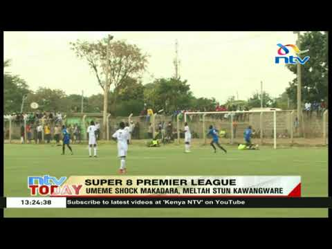 Umeme shock Makadara junior league  1-0