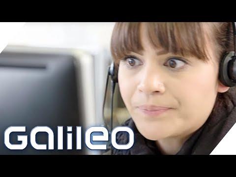 So hart ist der Job im Call Center   Galileo   ProSieben