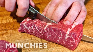 The One Knife Needed To Butcher Meat Like A Pro by Munchies