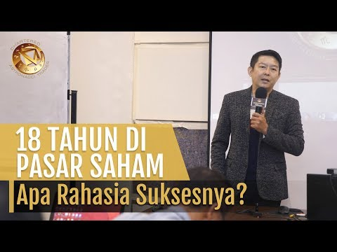 18 TAHUN DI PASAR SAHAM! RAHASIA SUKSES TRADING ARIA SANTOSO