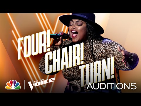 """Desz Gets a 4-Chair Turn Singing Toni Braxton's """"Unbreak My Heart"""" - The Voice Blind Auditions 2020 music video cover"""