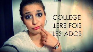 Vlog : Le collège, la première fois, l'adolescence. - Horia