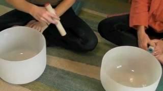Sound Healing and Crystal bowls