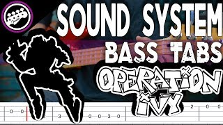 operation ivy sound system bass tab - TH-Clip