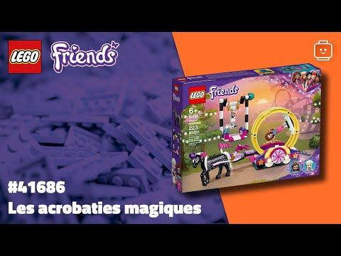 Vidéo LEGO Friends 41686 : Les acrobaties magiques