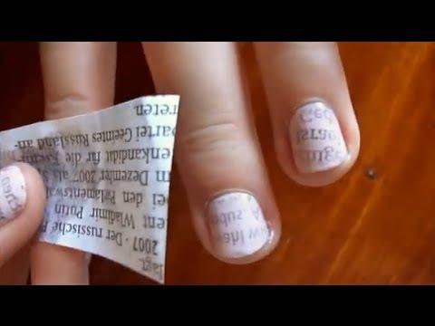Das Birkenpech von gribka der Nägel auf den Händen