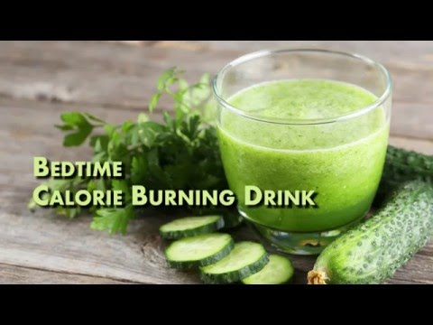 Video Calorie Burning Drinks That Works While You Sleep