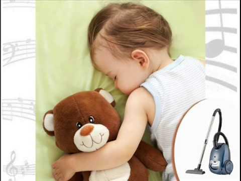 Einschlafhilfe für Babys - Staubsaugergeräusche