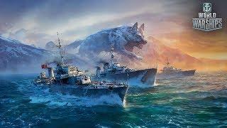 World of Warships. Праздничный стрим, бухой рандом защитников