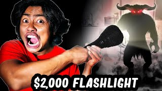 I Bought The Most EXPENSIVE Flashlight In The WORLD!
