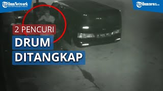VIDEO Maling Drum Minyak Curah yang Sempat Viral Akhirnya Tertangkap Polisi, Sudah Lima Kali Beraksi