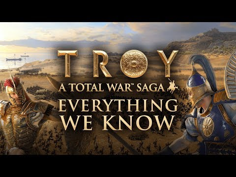 TOTAL WAR SAGA: TROY | EVERYTHING WE KNOW (Trailer Analysis, Campaign Map, FAQ & More)