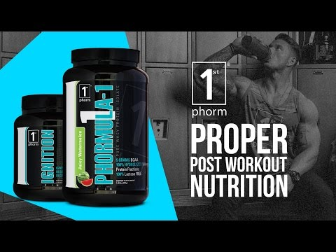 Phormula-1 and Ignition Review - Build Muscle Faster With The Best Post Workout Stack