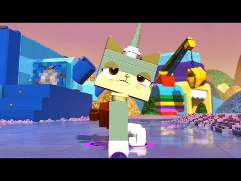 NEW LEGO Queasy Kitty FROM SET 70810 THE LEGO MOVIE (tlm076)